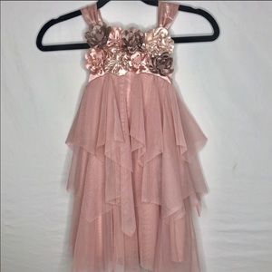 Girls Special Occasion Formal Floral Dress. | 5